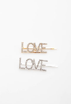 "Spangenset ""LOVE"", gold + silber"