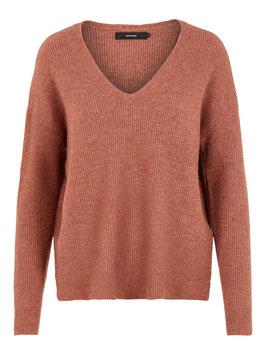 Vero Moda Pullover Blakely Mahogany