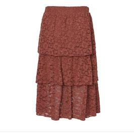Vero Moda Spitzenrock Beth Marsala
