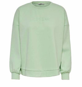 ONLY Amelia Sweatshirt mint