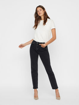 Vero Moda Relaxed Straight Jeans Sara black
