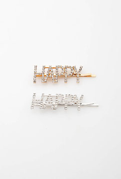"Spangenset ""HAPPY"", gold + silber"