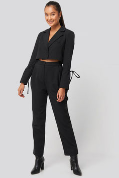 NA-KD Relaxed Tailored Pants schwarz