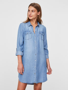 Vero Moda Hemdkleid Silla denim lightblue