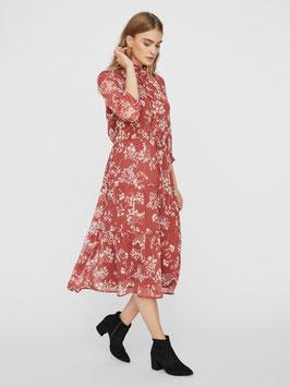 Vero Moda Dress Dino marsala