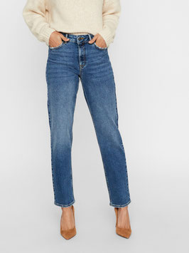 Vero Moda Relaxed Straight Jeans Sara medium blue