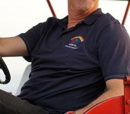 Poloshirt dunkelblau mit Logo