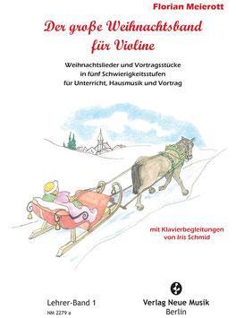 Der große Weihnachtsband für Violine, Lehrerband 1