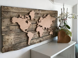 DIY Weltkarte Bausatz