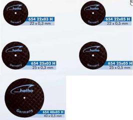 Dischi separatori Hatho in fibra