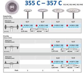 Dischi Horico 355 C - 357 C