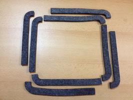 WO-A2503 Filz-Deckeldichtung Werkzeugfach