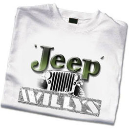 T-Shirt Jeep Letters Willys
