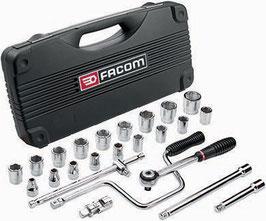 Zwölfkant-Steckschlüsselsatz FACOM