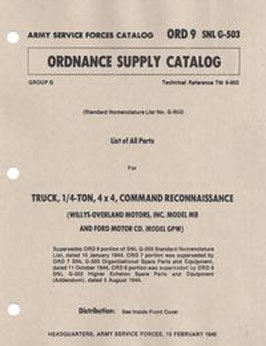 ORD 9 SNL G-503 (1945)
