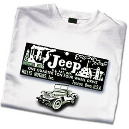 T-Shirt Jeep Registration Toledo