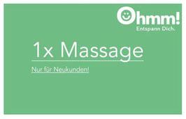 Einschulung + 1 Massage