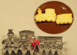 Lokomotive mit Wagong