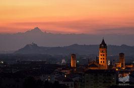 04 - Alba e il Monviso al tramonto