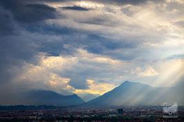 09 - Tramonto sulla Sacra di San Michele e la Val di Susa