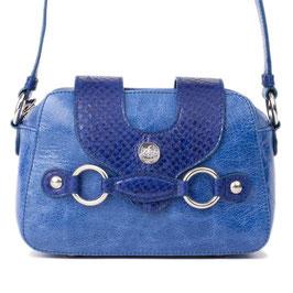 Handtasche Louvet in Tiefseeblau