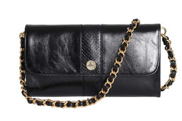 "Baguette Bag ""Carriacou"" in Schwarz"