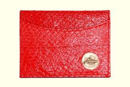 Kartenetui Bibbs in Rot
