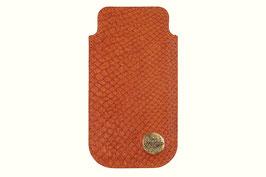 Handyetui Apple iPhone SE in Orange