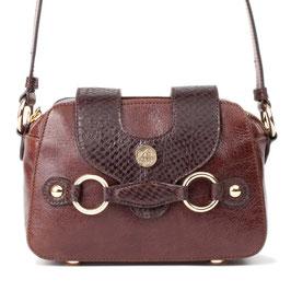 Handtasche Louvet in Dunkelbraun