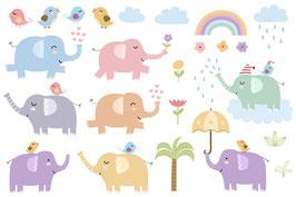 Süße Elefanten