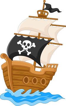 Piratenschiff klein