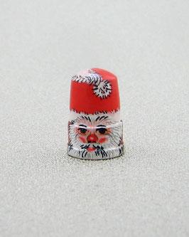 Holz Fingerhut  - Weihnachtsmann
