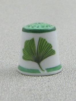 Porzellan Fingerhut - Ginkgo biloba