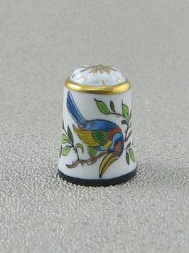 Porzellan Fingerhut - Tukan