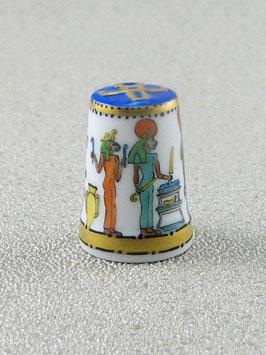 Porzellan Fingerhut - Wandmalerein