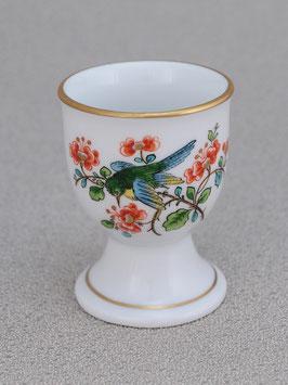 Porzellan Eierbecher - Vogel indisch