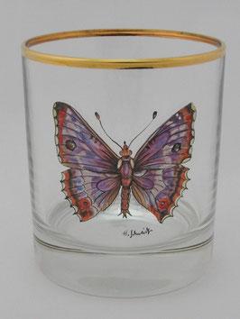 """Glas """"Großer Schillerfalter"""""""