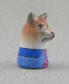 Porzellan Fingerhut - Fuchs