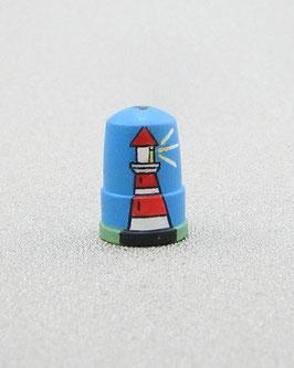 Holz Fingerhut - Leuchtturm