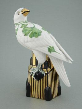 Figur Falke - Dekor Ginkgo biloba