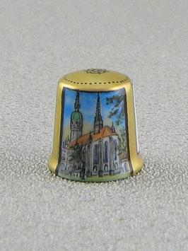 Porzellan Fingerhut - Schloßkirche Wittenberg
