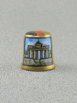 Porzellan Fingerhut - 25 Jahre Mauerfall