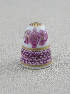 Porzellan Fingerhut - Indisch