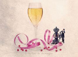 CP YP - Le bulleur de champagne