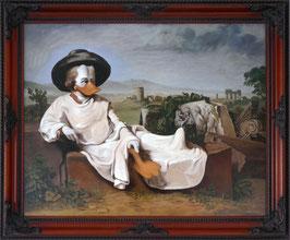 """Replik """"Goethe in der römischen Campagna"""""""