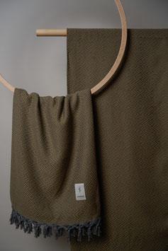 Tribal Towel Green Olive