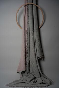 Crinkled Plaid Grey