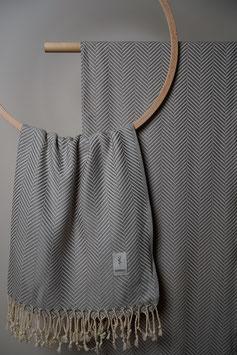 Kashkar Towel Grey