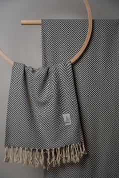 Kashkar Towel Dark Grey