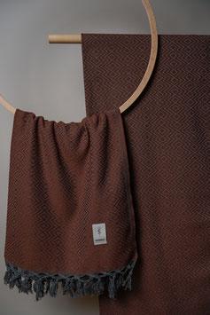 Tribal Towel Copper Brown
